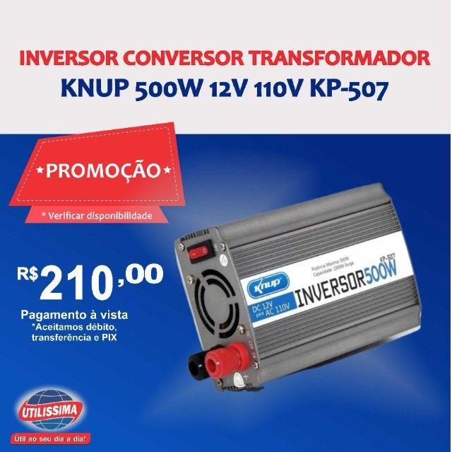 Inversor Conversor Transformador Knup 500w 12v 110v KP-507