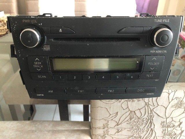 Rádio do Corolla Original (Modelo 2009  até 2014)