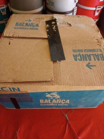 Vende-se Balança Digital Elgin plus 15kg (nova) - Foto 5