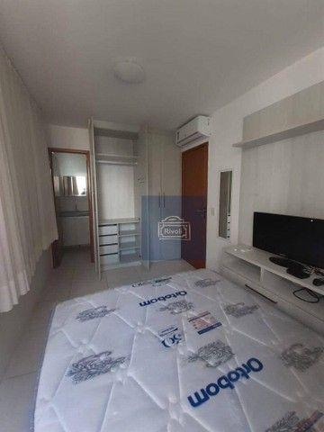 Apartamento com 1 dormitório para alugar, 40 m² por R$ 2.000/mês - Boa Viagem - Recife/PE - Foto 15