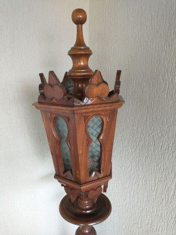 Poste em madeira maciça - Foto 2