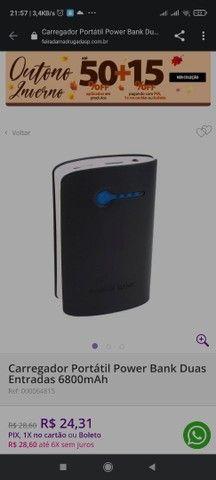 Carregador de Celular portátil