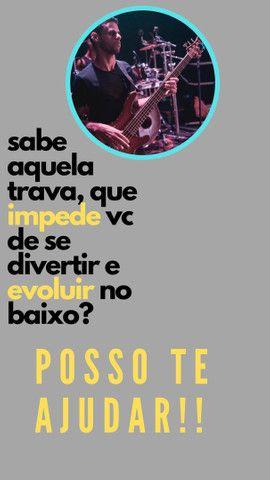Aulas de BAIXO VIOLÃO E TECLADO - Foto 3