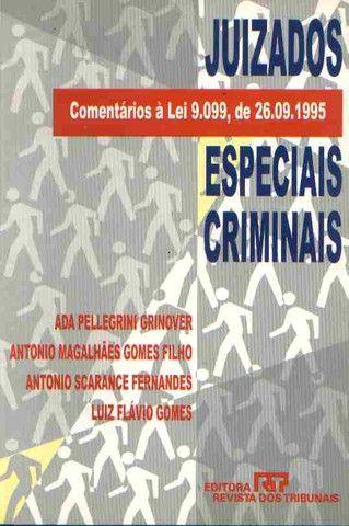 Juizados Especiais Criminais Ada Pellegrini Grinover e Outros - Livro em ótimo estado
