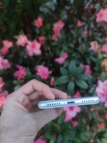 iPhone 7 128gb Prata - Excelente!! 12x de 123,91  no cartão. C/Garantia - Foto 6