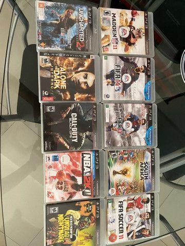 10 jogos originais de PS3  - Foto 2