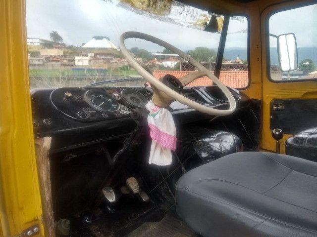 Caminhão 608 1977 pronto para trabalho - Foto 5