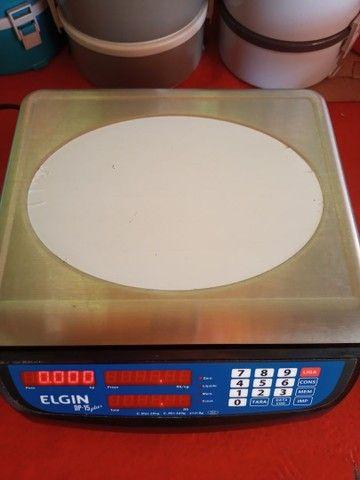 Vende-se Balança Digital Elgin plus 15kg (nova) - Foto 3