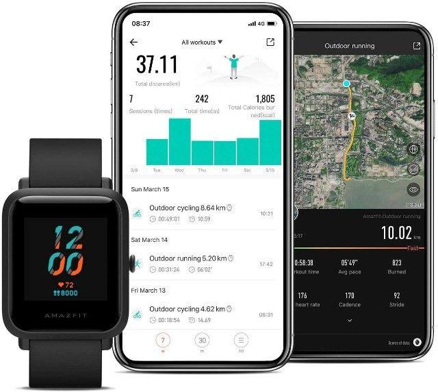 Smartwatch Xiaomi Amazfit Bip S original - Foto 3