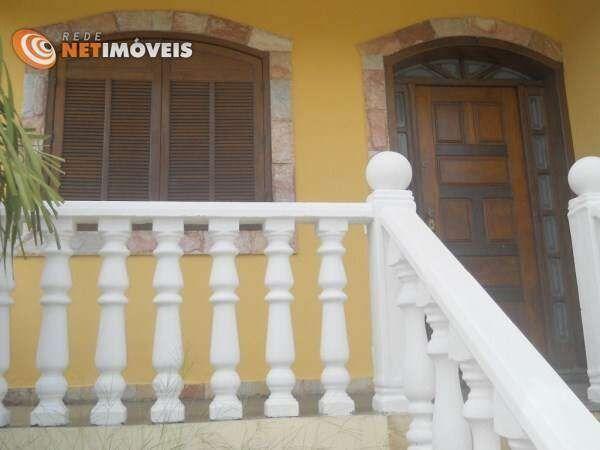 Casa de condomínio à venda com 4 dormitórios em Rio branco, Belo horizonte cod:470529