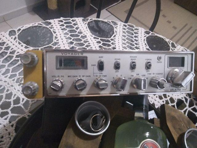 Rádio Px Voyager VR 87M com eco - Foto 2