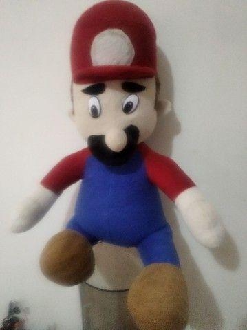 Super Mario boneco original década 90