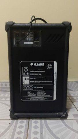 Caixa Amplificada Multi Uso LL 120 LL Áudio  - Foto 2