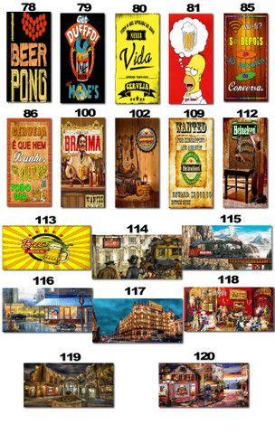 Placas Decorativas com Frases Divertidas de Bebida Kit com 7 placas - Foto 6