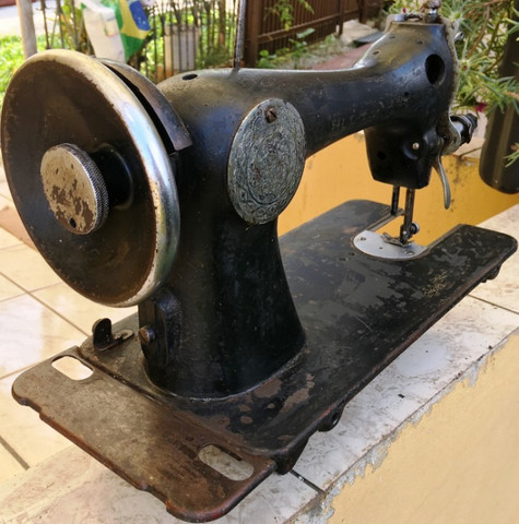 Cabeçote de máquina de costura Alfa, usada, no estado - Foto 2