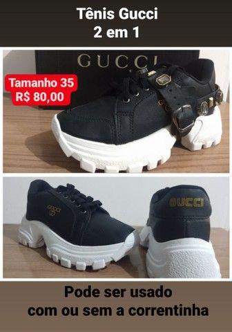 Tênis Gucci 2 em 1 - Foto 2
