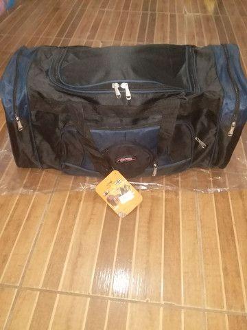 Linda bolsa de viagem tm g nova 80 reais avista  - Foto 2