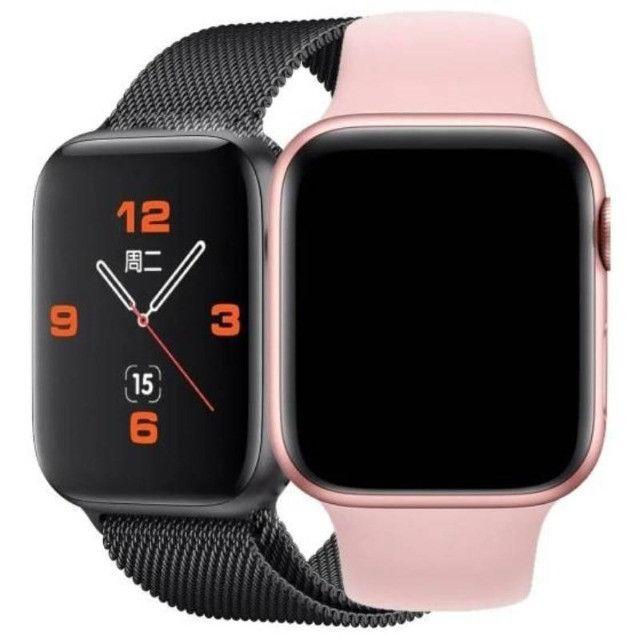 Pronta Entrega Original Smartwatch Iwo 13 Pró Max W56 44 MM - Foto 2