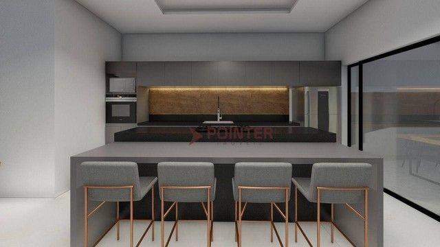 Sobrado com 4 dormitórios à venda, 615 m² por R$ 1.899.000,00 - Condomínio do Lago - Goiân - Foto 5