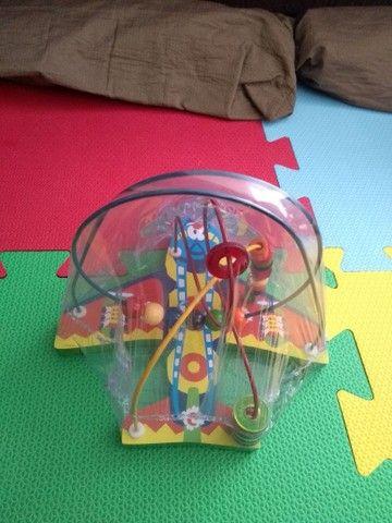 Brinquedo Educativo Aramado Avião - Montanha-russa - Foto 2