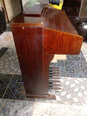 Piano antigo órgão eletrônico - Foto 3