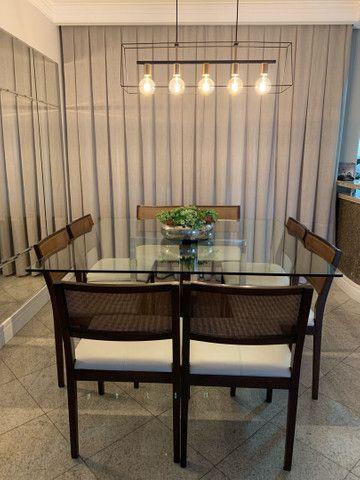 Mesa de jantar 8 cadeiras  - Foto 5