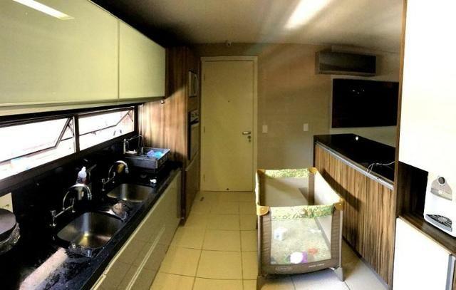 AP1003 Apto. 217m² Um Por Andar 3 Suites Projetado Climatizado, Gab.3 vgs. Prox: Beira Mar - Foto 4