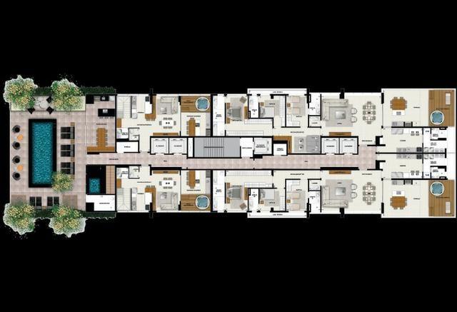 Spot Marista, Apartamento 120m2, 3 suítes, 2 vagas, Setor Marista, Goiânia - Go - Foto 16