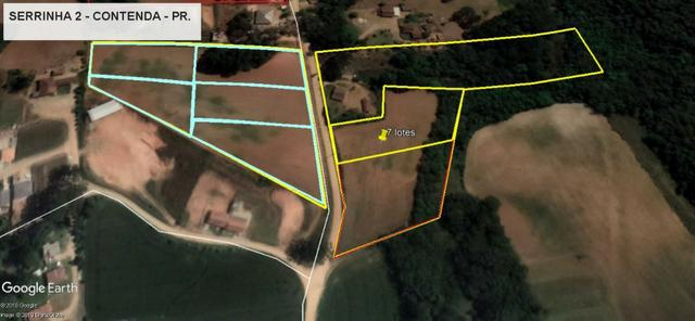 REF 2407 - Chácara com 3.000m² - Excelente formar chácara Serrinha - Contenda/PR - Foto 2