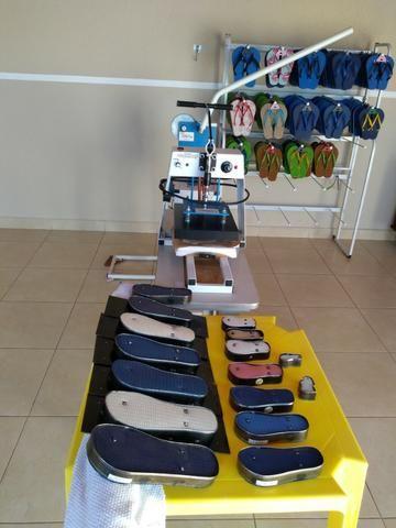 Máquinas para fabricação de chinelos - Foto 6