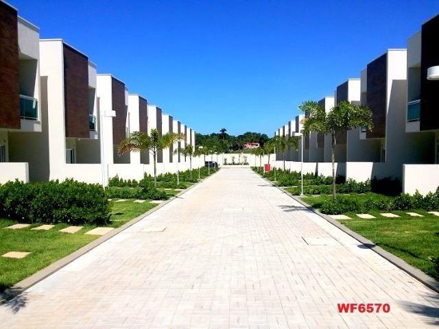 CA1699 Nathus Ville, casa duplex com 3 suítes no Eusébio, 2 vagas, área de lazer completa - Foto 3