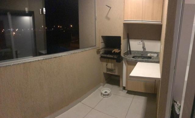 2 Quartos Todo Mobiliado Apartamento Condomínio Montalcino - Foto 10