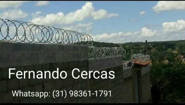 Concertina - Cerca de proteção para muros - Cerca de segurança