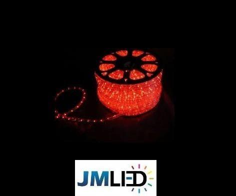 Rolo de 100m Mangueira Roliça de LED para Natal R$ 410,00 em 3X - Foto 2