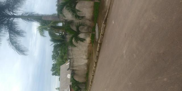 Terreno bairro chico mendes murado lado direito frente e fundo