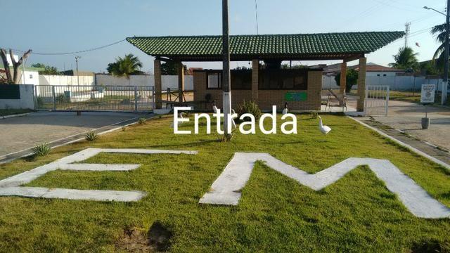 Terreno massagueira Cond fechado 77 mil