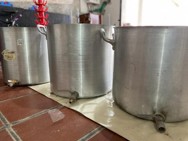 Kit completo cerveja artesanal 60 litros