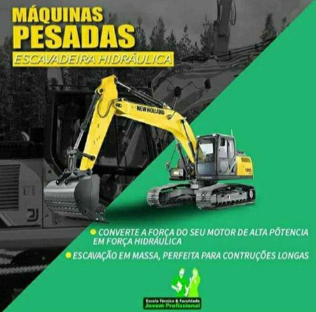 CURSO DE OPERADOR DE MAQUINAS PESADAS  - Foto 3