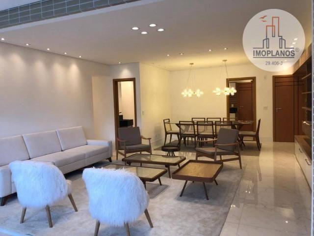 Belíssimo apartamento com 3 dormitórios à venda, 124 m² por R$ 837.585 - Canto do Forte -  - Foto 5