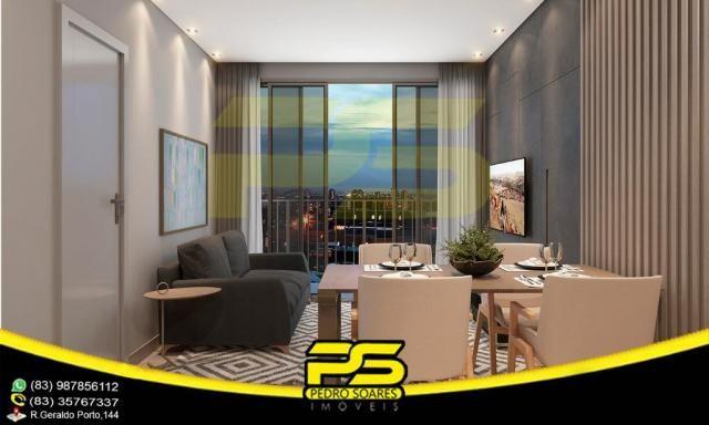 Oportunidade, apartamento, 02 suítes, piscina, 53,77m², por apenas R$ 389.563,65, em Bessa - Foto 9