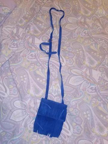 Bolsinha azul - Foto 2