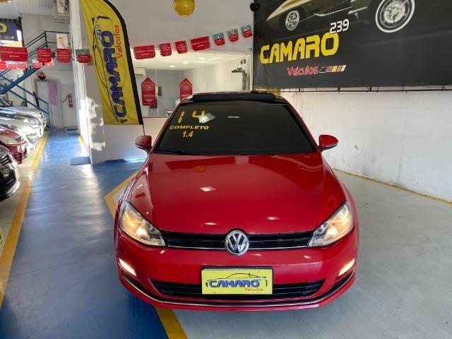 Vw - Volkswagen Golf Tsi Highline + Teto - Foto 2