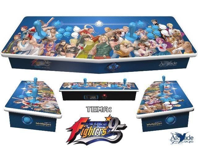 Arcade Fliperama Multijogos Retro 2 Players Tema: The King of Fighters 95 Com 7050 Jogos - Foto 3
