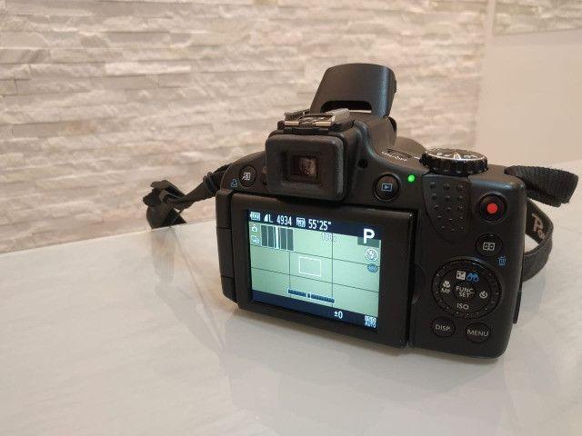 Câmera semi-profissional Canon SX50Hs - Foto 4