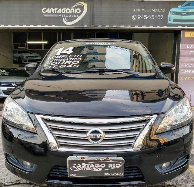 Nissan Sentra SL aut 2014 com GNV