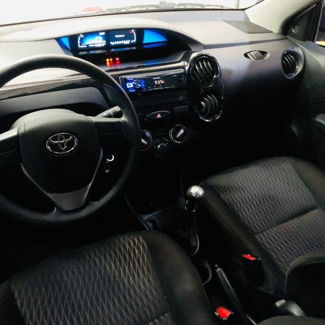 Etios sedan x 1.5 plus mec 19/20 carro impecavel - Foto 8