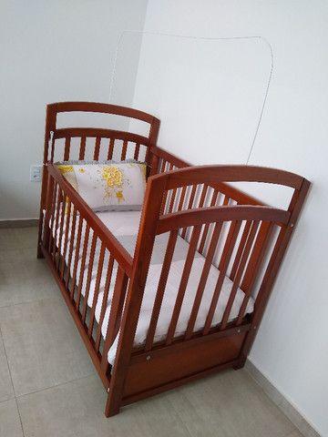 Berço + colchão infantil - Foto 2
