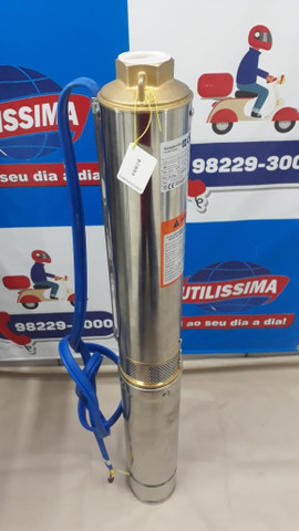 Bomba submersa 1 HP , tubo de 110 mm, joga ate 89 metros de altura modelo claw - Foto 3