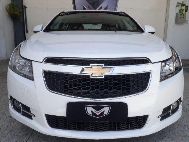 Chevrolet Cruze 1.8 LT 16V 4P 2013/2013 Branco Blindado - Foto 5
