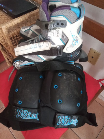 Patins Roller Oxelo Fit 5 - Foto 4